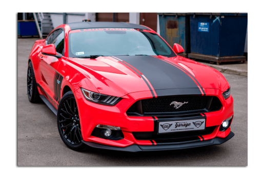 Картина Ford Mustang Red